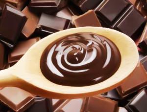 Colher de Madeira com Chocolate