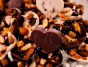 Pastilha de chocolate com frutas secas