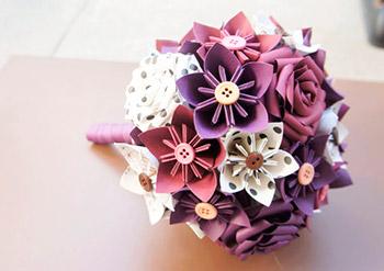 Buquê de Origami