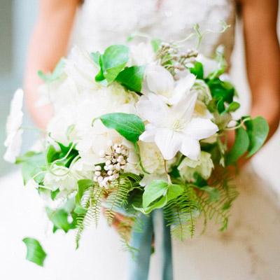 Buque de flores naturais