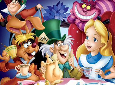 Tema Festa Alice no país das maravilhas