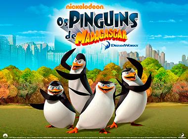Tema Festa Pinguins de Madagascar