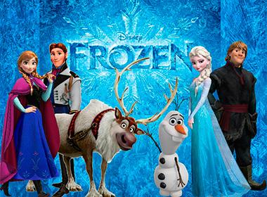 Tema festa Frozen